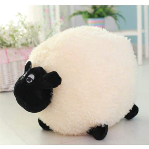 Lamb cute round ball pillow plush toy - XpressGoods
