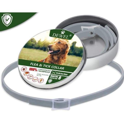 Dewel 8 Month Flea & Tick Prevention Collar for Dogs - XpressGoods