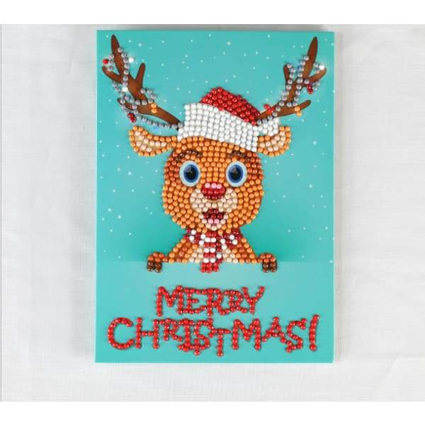 Creative Christmas Diamond Painting Greeting Card - XpressGoods