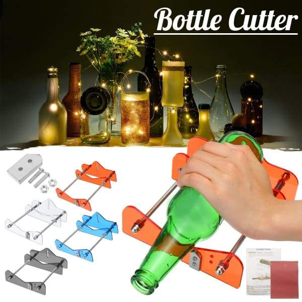 DIY Glass Bottle Cutting Machine Kit Craft Party Recycle