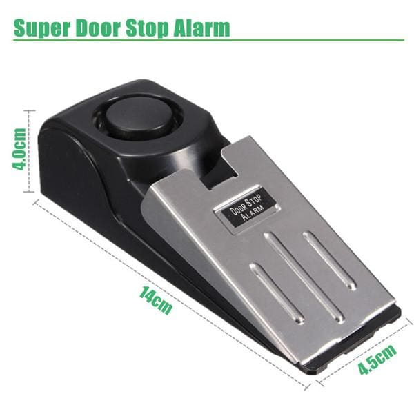 Door Stop Block Systerm Security Portable Burglar Sensors