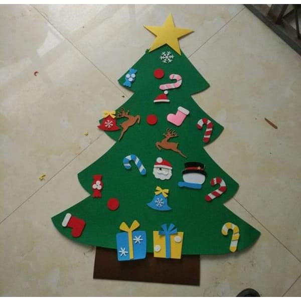 Felt Christmas Tree Luxury Decoration Children's Toy - XpressGoods