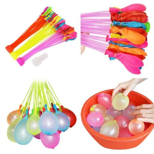 Filling Water Balloons | Water Bombs - 111pcs - Play Toys