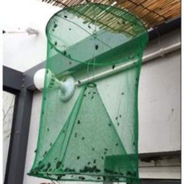 Fly Trap Folding Cage - Green - Home - Cards and Stationery
