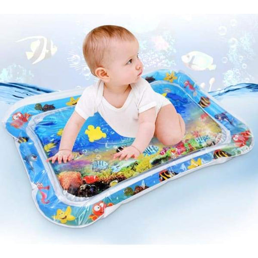 Inflatable Water Baby Patting Pad - With Box - Kids Plush