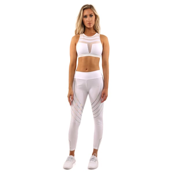 Laguna Set - Leggings & Sports Bra - White - Small - Sports