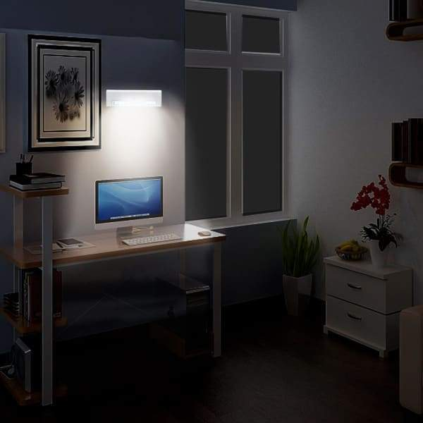 LED Wireless PIR Motion Sensor Cabinet Cupboard Closet Light