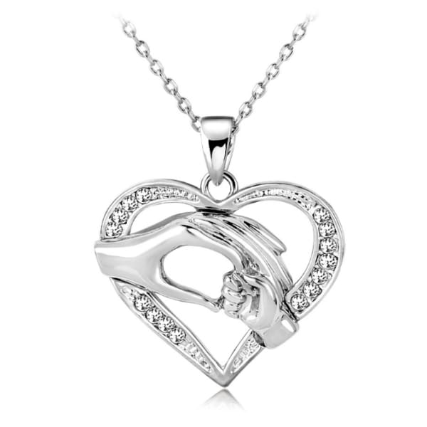 Love Heart Necklace chain for Couples - XpressGoods
