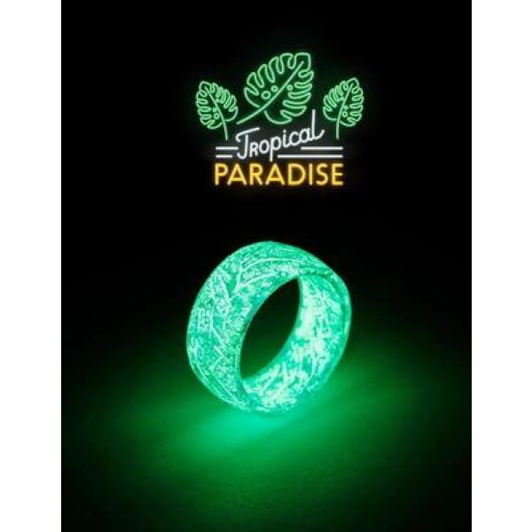 Luminous Ring | Glowing In The Dark Ring - Green / 6 -