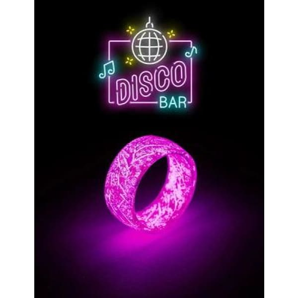 Luminous Ring | Glowing In The Dark Ring - Pink / 9 - Beauty