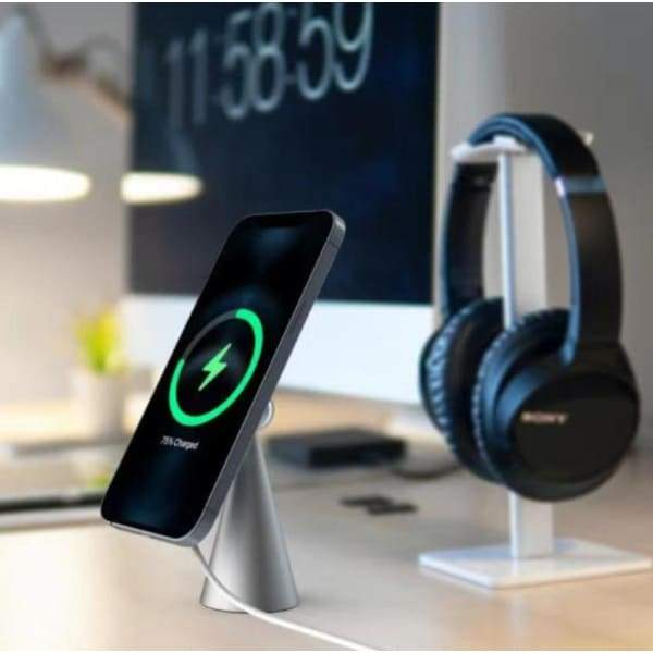 Magnetic Desktop Phone Stand | Wireless Charger Bracket