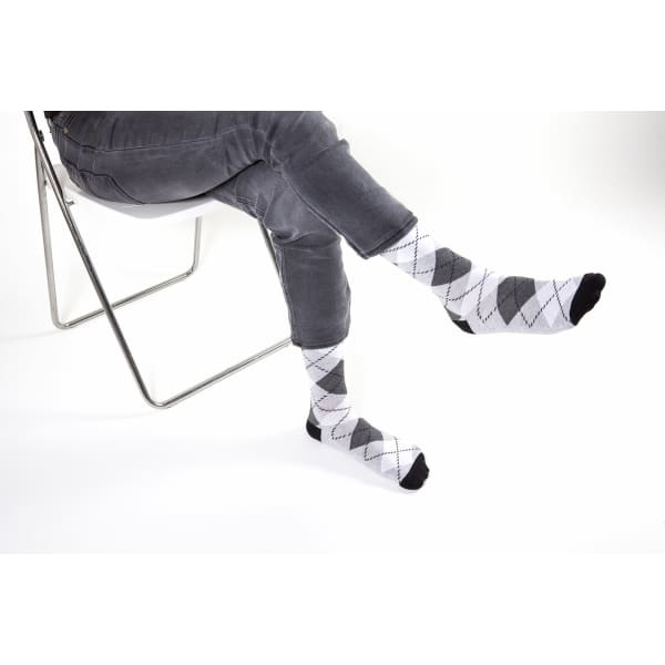 Men's Funky Argyle Socks - Men's Fashion - Men's Underwear