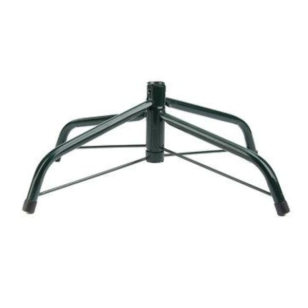 7ft Metal Holder Base Christmas Tree Stand Green Cast Iron Stand Decorations - XpressGoods