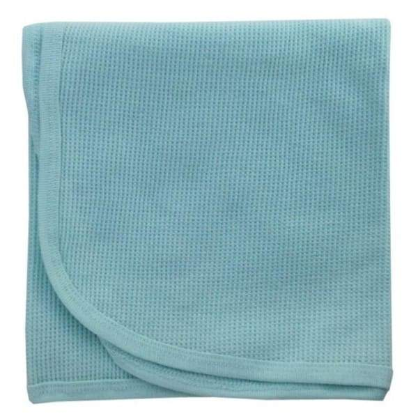 Bambini Mint Thermal Receiving Blanket - Kids & Babies -