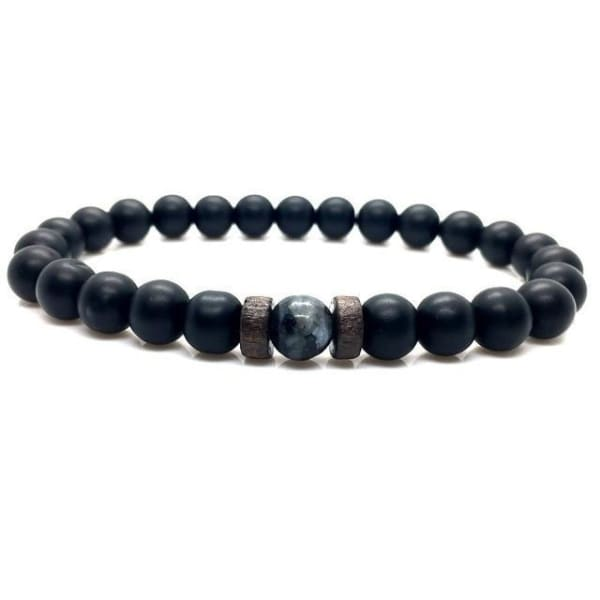 Men's Bracelet | Natural Moonstone Bead Buddha Bracelet - 1
