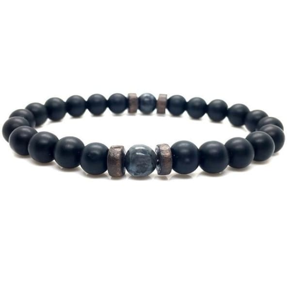 Men's Bracelet | Natural Moonstone Bead Buddha Bracelet -