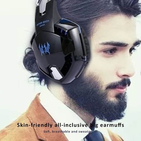 PC Stereo 3.5mm Wired Gaming Headset US - PC Stereo 3.5mm