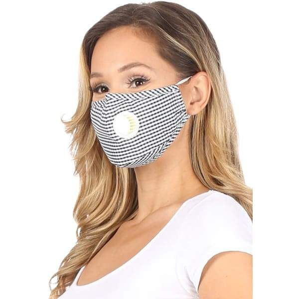 PM 2.5 Adult Face Mask W/ Ear Clip - Beauty & Health