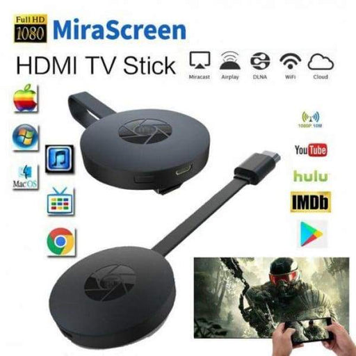 Portable Wireless 1080P Display HDMI TV Receiver l Broadcast
