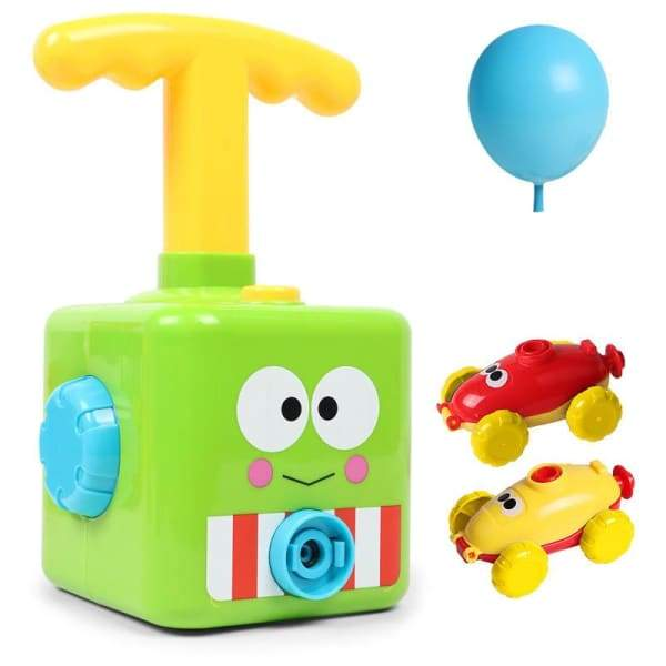 Power Balloon Launch Tower Toy or Children Gift - Green -