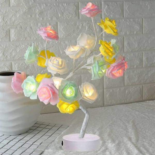 Rose Flower Tree Led lamp | Table Lamp Rose Flower - Color