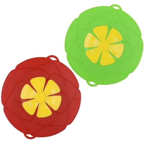 Silicone Anti-overflow Lid | Spill Stopper Pot Lid - Home &