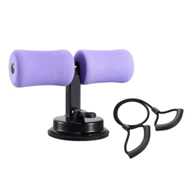 Sit Up Bar Trainer - Purple Elastic rope - Home & Garden -