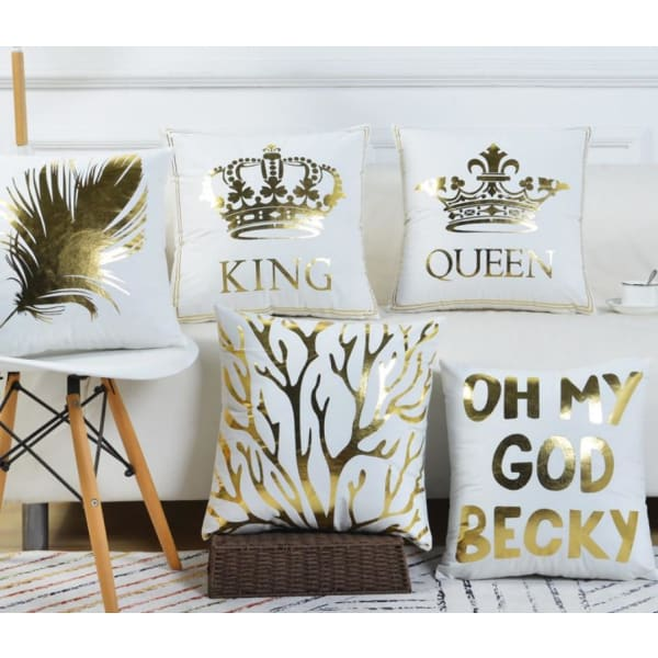 Sofa Pillowcase | Pillow Case Covers For Couch - Queen -