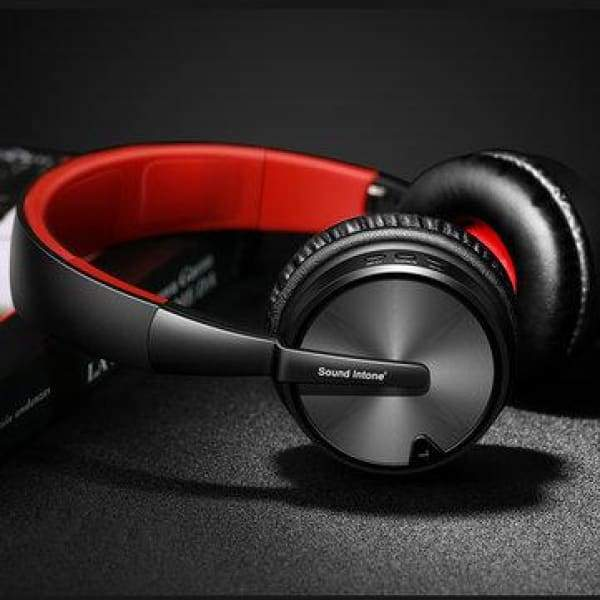 Stereo Foldable Wireless bluetooth Sound Intone BT-16 4D Headphone - XpressGoods