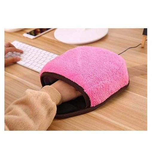 USB Heated Mouse Pad Bracers Hand Warmer - Computer & Office