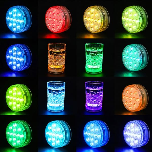 Waterproof LED Underwater Light | RGB Swimming Pool Lamp -