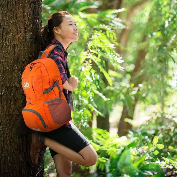 Lightweight Foldable Travel Hiking Backpack - Sports &