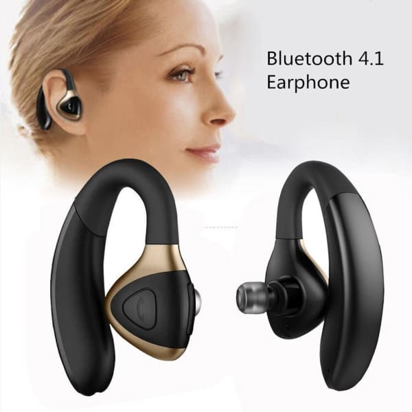 Wireless 4.1 Headset Sport Stereo Headphone - Black -