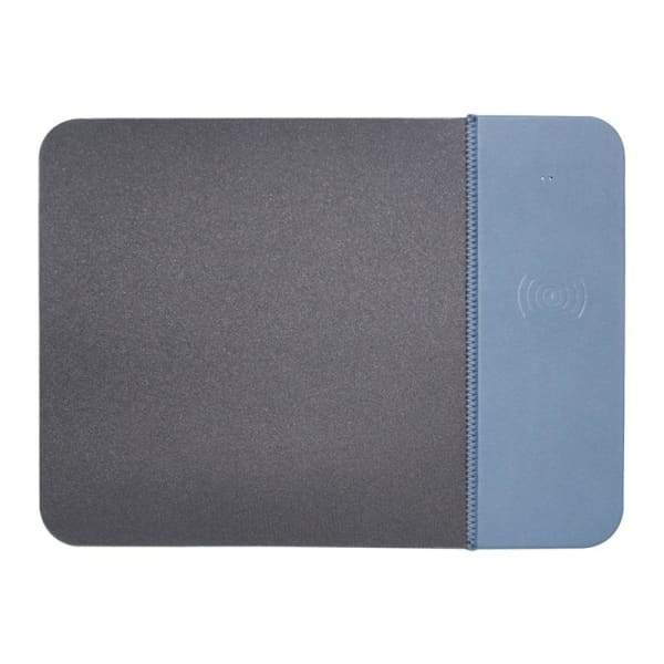 Wireless Charger Rubber Mouse Pad - Blue / 5W - Electronics