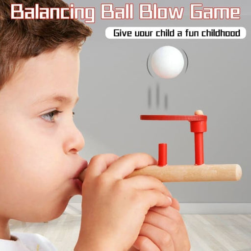 Wooden Air Suspension Floating Ball Game | Balancing Blow