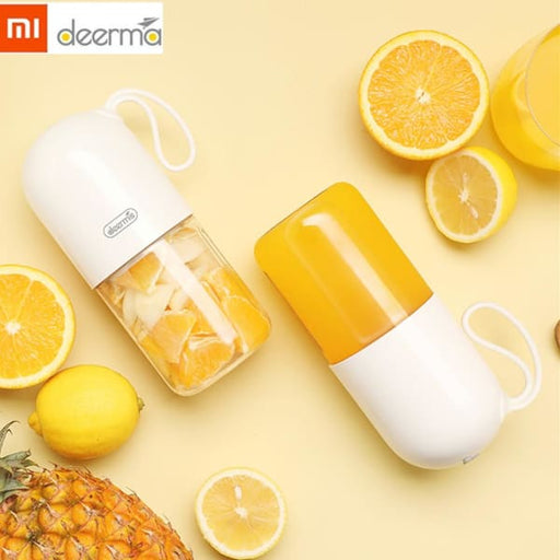 Xiaomi Deerma Portable Electric Juicer Blender - White -
