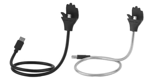 Lazy Stand Up Retractable Charging Cable