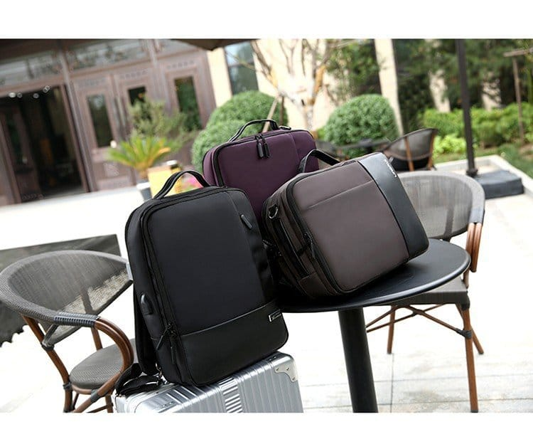Men's Business USB Charging Backpack