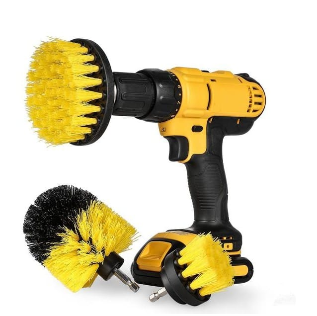 Multifunctional Electric Drill Brush For Automobile Tires