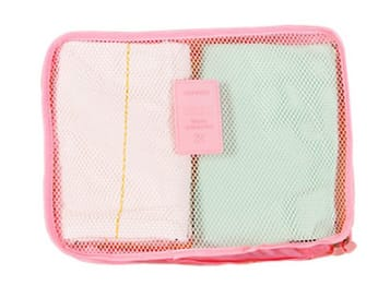 Travel clothing bra storage bag 6 and 7 sets of