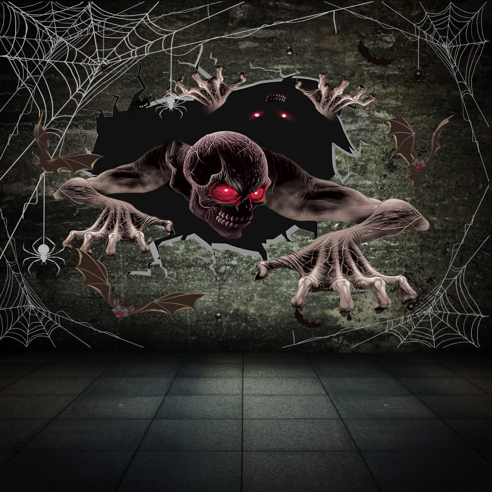 Halloween Horror Wall Sticker | Scary Wall Stickers