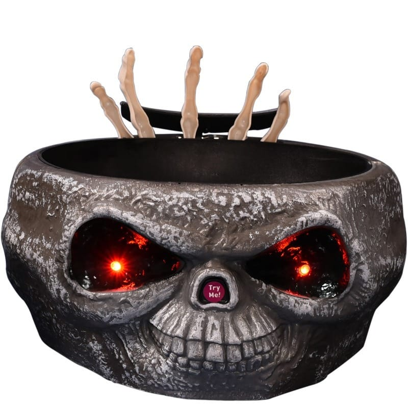 Electric Halloween Ghost Hand Bowl