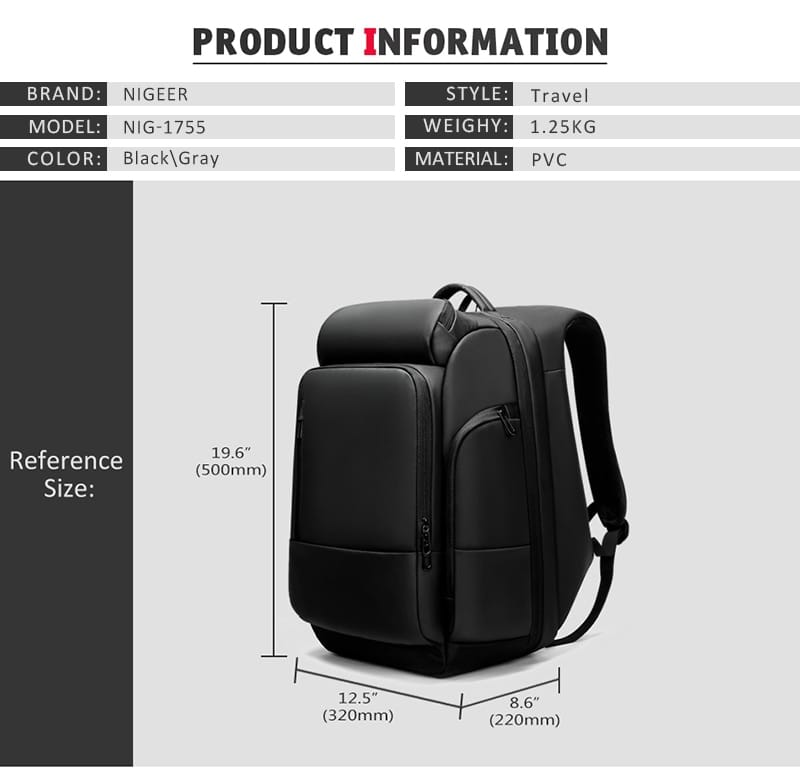 trndy outdoor large capacity backpack