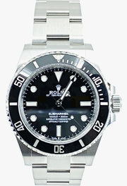 Rolex Submariner No Date Reference 124060