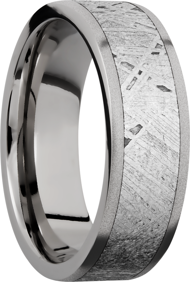 Lashbrook Wedding Band 7F15/METEORITE
