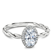 Noam Carver Engagement Ring B177-01A