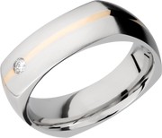 Lashbrook Wedding Band style CC7DSQ11_14KYDIAOC.07F+RECESS