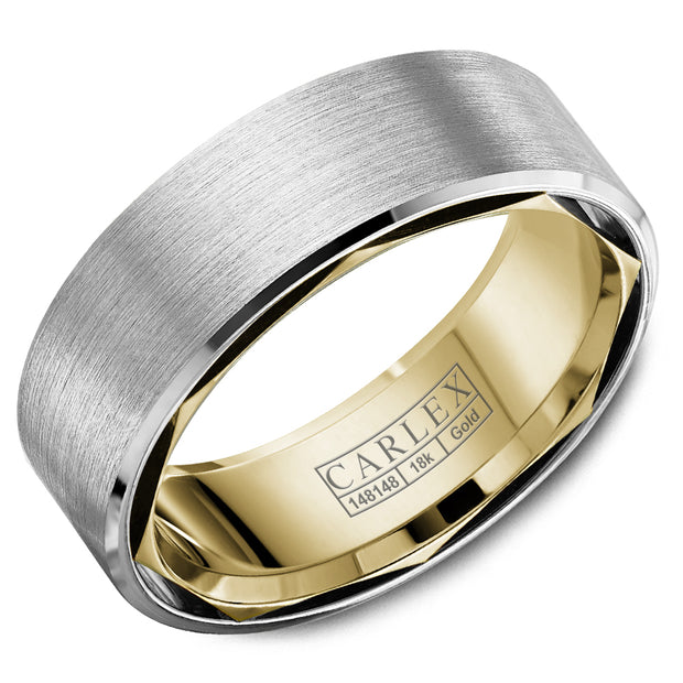Carlex Wedding Band CX1-0017WY75-S