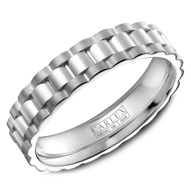 Carlex Wedding Band CX3-0002WWW-S