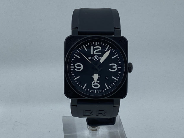 Bell & Ross Black Matte Reference BR-03-92-S